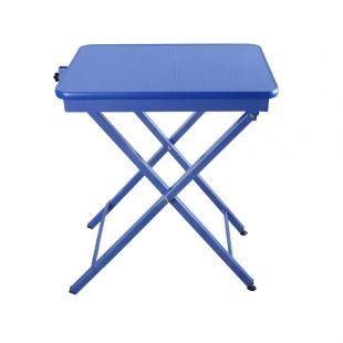 SHERNBAO X-shaped table,  Blue