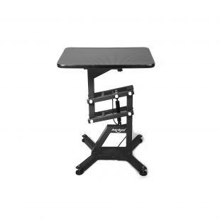 SHERNBAO Table with black frame,  Black