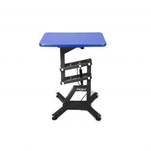 SHERNBAO Table with black frame,  Blue