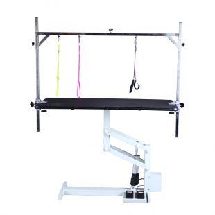 SHERNBAO Electric Z lifting table, Black, 124x64x50 cm