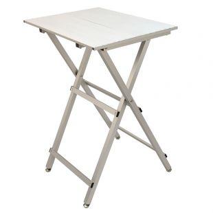 SHERNBAO Easy-folding aluminum table Silver