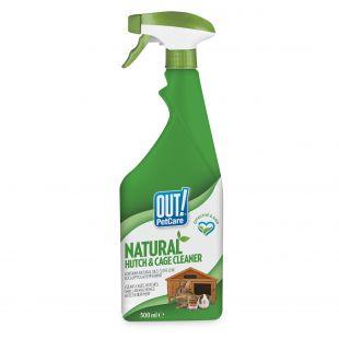 OUT! Cage and Hutch, cage cleaning 500 ml