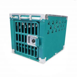 HYDROGROOM 100 Crate, cage for animals Teal Sparkle