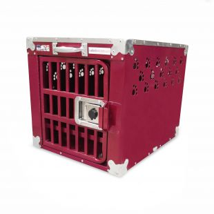 HYDROGROOM 100 Crate, cage for animals Rasberry Sparkle