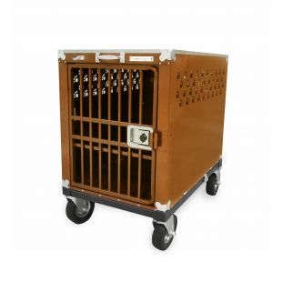 HYDROGROOM 400 Crate, cage for animals Caramel Sparkle