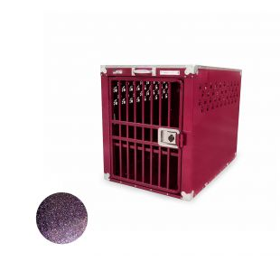 HYDROGROOM 400 Crate, cage for animals Purple Shimmer