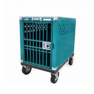 HYDROGROOM 400 Crate, cage for animals Teal Sparkle