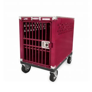 HYDROGROOM 400 Crate, cage for animals Rasberry Sparkle