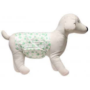 HIPPIE PET ONE-TIME USE DIAPERS FOR MALE DOGS size S, 30-46 cm, 1 pc