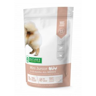 NATURE'S PROTECTION Dry food for dogs Mini Small breeds Junior 2-12 months Poultry 500 g