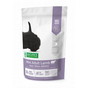 NATURE'S PROTECTION Mini Small breeds Adult Lamb 500 g