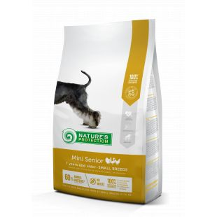 NATURE'S PROTECTION Mini Small breeds Senior 7 years and older Poultry 2 kg