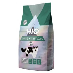 HIQ Long Hair Care Food for cats 6.5 kg