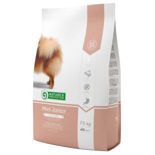 NATURE'S PROTECTION Dry food for dogs Mini Small breeds Junior 2-12 months Poultry 7.5 kg