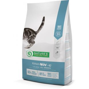 NATURE'S PROTECTION Kitten Up to 1 year Poultry with krill Dry food for cats 2 kg