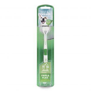 FRESH BREATH Toothbrush for junior dogs White