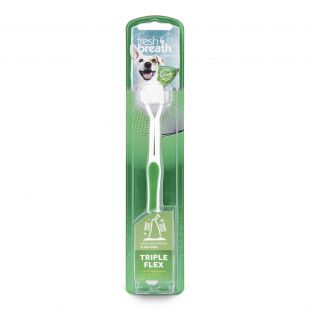 FRESH BREATH Toothbrush for dogs White