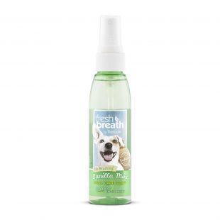 FRESH BREATH Spray for dental care, vanilla scent Green