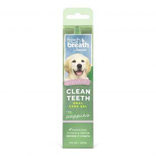 FRESH BREATH Gel for dental care,for junior dogs Green