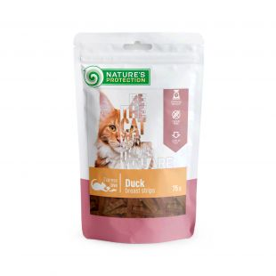 NATURE'S PROTECTION snack for cats duck breast meat 75 g x 6