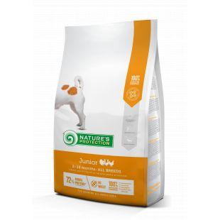 NATURE'S PROTECTION All breeds Junior 2-12 months Poultry Sausas pašaras šunims 2 kg