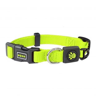 DOCO Signature nylon collar for dogs size XL, lime