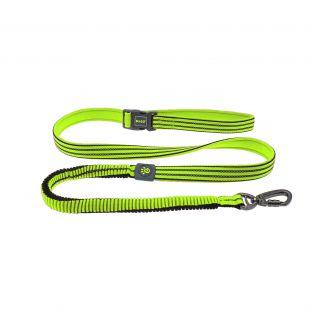 DOCO VARIO nylon leash reflecting lime S size