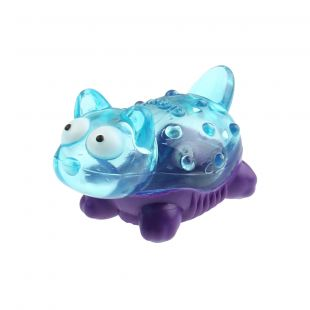 GIGWI Toy for dogs, Suppa Puppa Cat, blue/purple