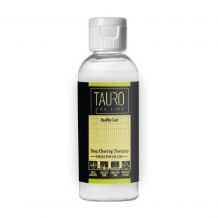 TAURO PRO LINE Healthy Coat deep cleaning shampoo , shampoo for dogs and cats 65 ml