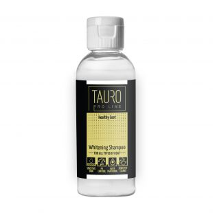 TAURO PRO LINE Healthy Coat Whitening Shampoo , shampoo for dogs and cats 65 ml
