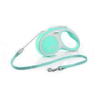 FLEXI New Comfort Leash, cord, S, light blue