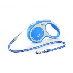 FLEXI New Comfort Leash, cord, S, blue