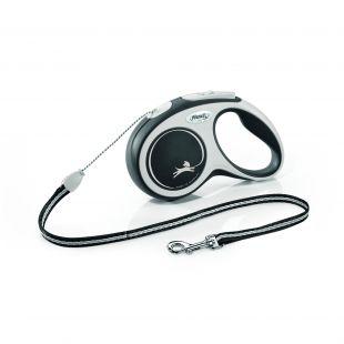 FLEXI New Comfort Leash, cord, S, black
