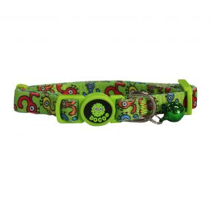 DOCO LOCO collar for dog size M, multicolored