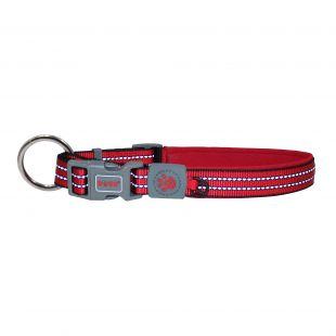 DOCO Collar for dog VARIO M, raudonas