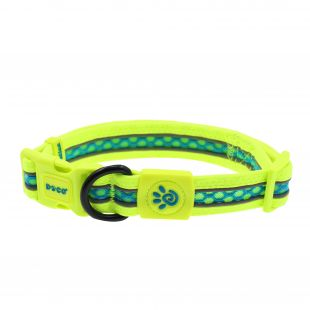 DOCO Lunar collar for dog Lunar L,  pilkas