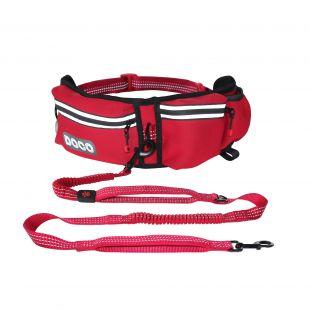 DOCO running belt raudonas