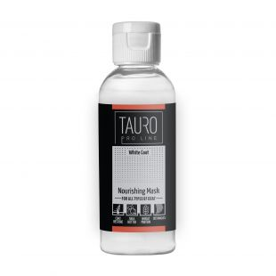 TAURO PRO LINE White coat Nourishing Mask , mask for dogs and cats 65 ml