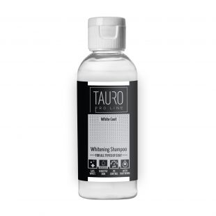 TAURO PRO LINE White Coat Whitening Shampoo, shampoo for dogs and cats 65 ml