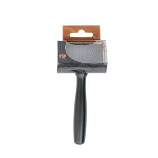 SHUBERT Brush for cats and dogs soft bristles, size S, 13.5x6x1.8 cm,