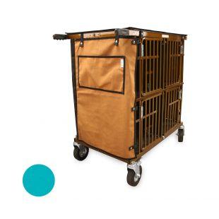 HYDROGROOM 4-Berth, pet trolley Teal Sparkle