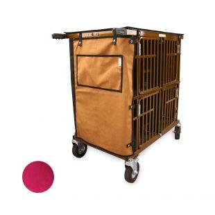 HYDROGROOM 4-Berth, pet trolley Rasberry Sparkle