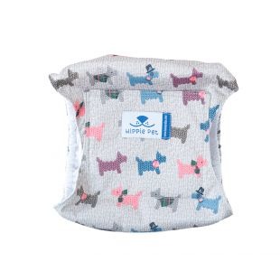 HIPPIE PET Reusable diapers for male dogs puppies XL