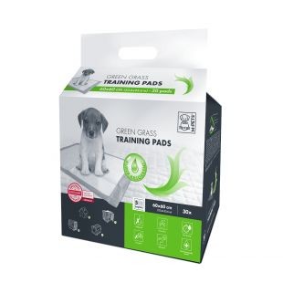 M-PETS Disposable pads for pets green grass scent, 60x60 cm, 30 pcs