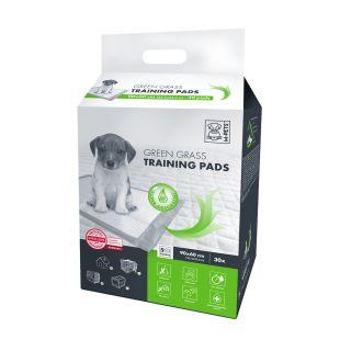 M-PETS Disposable pads for pets green grass scent, 90x60 cm, 30 pcs