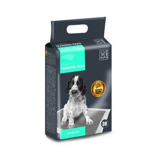 M-PETS Disposable pads for pets with carbon technology, 33x45 cm, 30 pcs