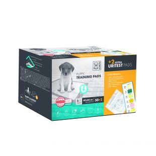M-PETS Disposable pads for pets with urine test 60x60 cm, 50+2 pcs