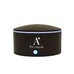 A'SCENTUALS Ultrasonic diffuser 300 ml, oval, dark wood imitation
