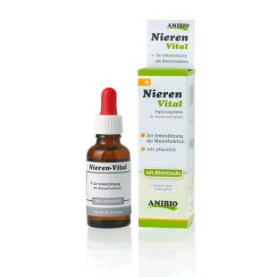 ANIBIO Nieren-Vital feed supplement for cats and dogs, to support kidney function 30 ml