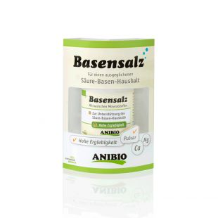 ANIBIO Basensalz feed supplement for cats and dogs, to maintain the balance of acids and alkalis in the body, 40 g